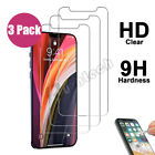 3 Pack Premium Tempered Glass Screen Protector For Apple iPhone 6 6S 7 8 Plus
