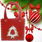 1pc Cute Christmas Tree Gift Bags Festive Candy Present Storage Packing P6n2