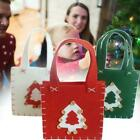 Christmas Gift Bags Festive Candy Packing Storage 14x14x5cm Z2v8