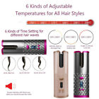 Smart Portable Wireless Automatic Curling Iron Hair Curler Curly Hair Machine