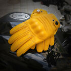 Men's 100 Real Leather Cowhide Motorcycle Bicycle Touch Screen Tactical Gloves