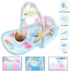 3 in 1 Baby Lullaby Music Play Mat Piano Gym Floor Musical Lay Toy With