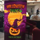 1pc Halloween Large Scarecrow Backdrop Poster for Mall Party