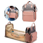 Travel Foldable Baby Bed Portable Backpack Changing Station Diaper Bag Unisex