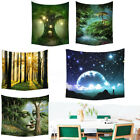 Bohemian Fairy Forest Tapestry Hippie Wall Hanging Throw Bedspread Home Deco