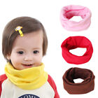 Knit Scarf Kids Candy Colors Baby Warm Cotton Breathable Toddler Boy Girl Winter