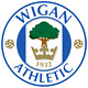 Wigan Athletic Football Club FC England Iron On Embroidered Patch