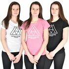Womens T-Shirts Round Neck Short Sleeve Skechers Ladies Sports Gym Fitness Top