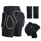 MTB Mountain Bike Protector Shorts With Padding Cycling Knee Elbow Pads Guards