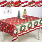 Christmas Tablecloth Dust-proof Thanksgiving Table Cover Home Party Decorations
