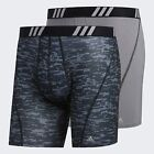 adidas Men's Sport Performance Mesh Boxer Brief Underwear (2 Pack)