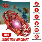 Mini Drone Quad Induction Levitation UFO Flying Toy Hand-controlled Kids Gift UK