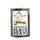Mr Organic Black Beans 400g - Free UK Delivery
