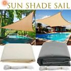 Waterproof Sun Shelter Triangle Sunshade Protection Outdoor Canopy Garden Patio