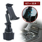 Universal Adjustable Car Cup Holder Cradle Mount For iPhone iPad Cell Phone Gps