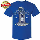Внешний вид - Los Angeles Dodgers 2020 World Series Champions T-Shirt - Royal Blue