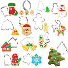 Theme Santa Claus Cake Mould Biscuit Mold Christmas Cookie Cutter Baking Tool~