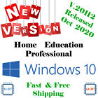 Windows 10 Bootable USB/DVD - All Versions 32/64 Install Repair Recover Upgrade