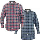 New Mens  Jacksouth Flannel Lumber Jack Check Brushed Casual Cotton Work Shirt
