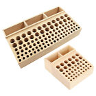Wooden Leathercraft Tools Rack Stand Leather Stamp Punch Tools Holder Organizer