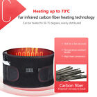 Electric Heat Therapy Far Infrared Vibration Hot Compress Waist Pain Relief Belt