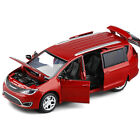 Chrysler Pacifica Hybrid MPV 1/32 Diecast Model Car Toy Collection Sound Light