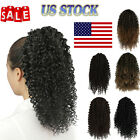 10 inches Afro Kinky Curly Clip in Ponytails Puffs  Drawstring Curly Ponytail US
