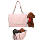 Stylish Pet Carrier Hand Tote Shoulder Bag Portable Dog Cat Kitten PU Breathable