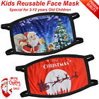 Xmas Face Mask Protective Covering Mouth Masks Washable Reusable Adult Kids UK
