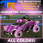 [PS4/PSN] Rocket League Every Jandertek: Holographic Limited Wheel Grey etc.