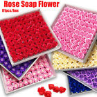 81Pcs Rose Bath Soap Flower Petal With Box For Wedding Valentine Gift
