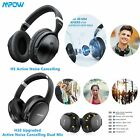 Mpow H5/H10 Bluetooth Headphone Wireless HIFI Deep Bass Over Ear Headset CVC6.0