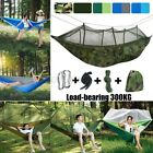 1-2 Person Camping Mosquito Net Tent Hammock Hanging Sleeping Bed Lightweight
