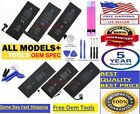 Replacement Internal Battery For iPhone  5 5C 5S 6 6S 7 8 Plus + free Tools Kit