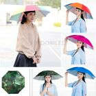 Sun Umbrella Hat Outdoor Hot Foldable Golf Fishing Camping Headwear Head Cap