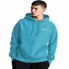 Champion Reverse Weave Fleece Men's Pullover Hoodie Blue Horizon GF68-YO6819 QQC