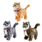 Walking Stuffed Animal Soft Plush Cat Toy with Sounds and Music, Interactive