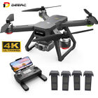 DEERC D15 GPS Drone with 4K UHD EIS Camera 5G Wifi FPV RC Quadcopter Brushless