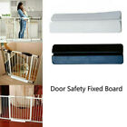 Baby Pet Gate Stair Way Security Fixed Board for Door Extra-Wide Tall Lock Walk