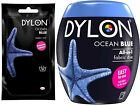 22 Colours Dylon Fabric & Clothes Dye, Dylon Machine / Hand Dye Black, Navy Blue