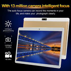 """10.1"""" 4G-LTE Network Gaming Tablet Android 8.0 PC 8 128GB Dual SIM GPS Camera"""