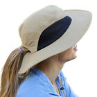 Womens Sun Hat UV Protection Wide Brim Bucket Hat Fishing Hiking Camping Beach
