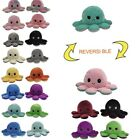 Reversible Flip Octopus Plush Toy Cute Soft Animal Baby Gift Children's Toy