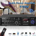 2000W bluetooth5.0 Power Amplifier Car Home Stereo Audio 2 Channel FM Amp AB