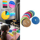 Colorful Demonstration Rainbow Fraction Circles