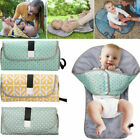 Waterproof Baby Diaper Changing Mat Travel Home Change Pad 3in1 Organizer Bags'