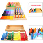 Wooden Color Matching Sorting Educational Fun Skill Sensory Interactive Toy