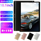 10.1 Inch Android 8.0 Tablet 4G-LTE IPS HD 8 128GB Call GPS Dual SIM/Phone