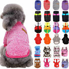 Pet Clothe Sweater Small Dog Coat Hooded Jacket Soft WINTER WARM Outfit Clothing