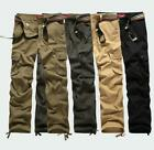 Men's Baggy Camouflage Military Army Cargo Combat Pants Trousers Casual pants